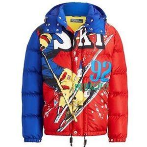 Ski 92 Suicide Downhill Skier Down Jacket
